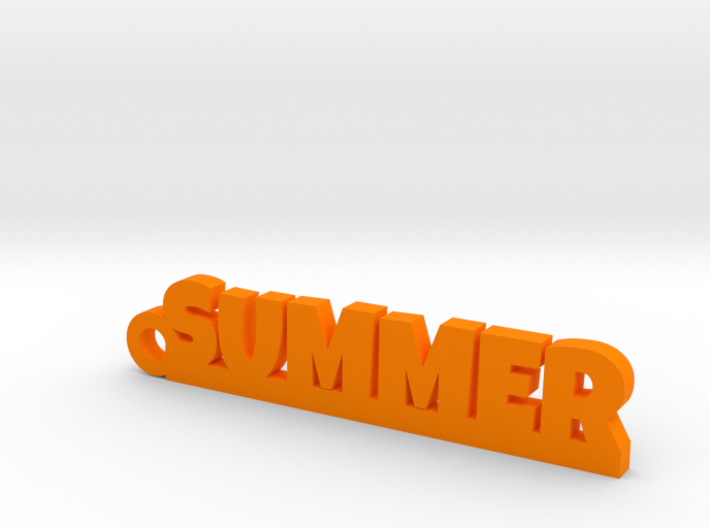 SUMMER Keychain Lucky 3d printed