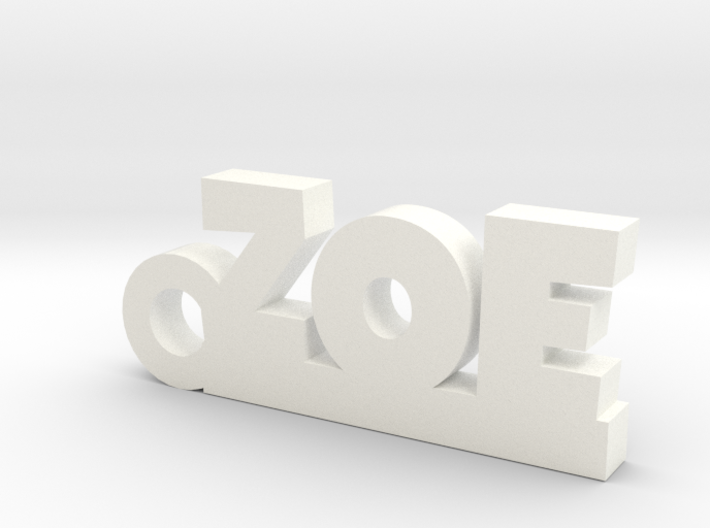 ZOE Keychain Lucky 3d printed