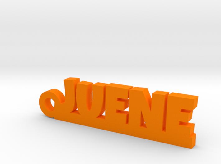 JUENE Keychain Lucky 3d printed