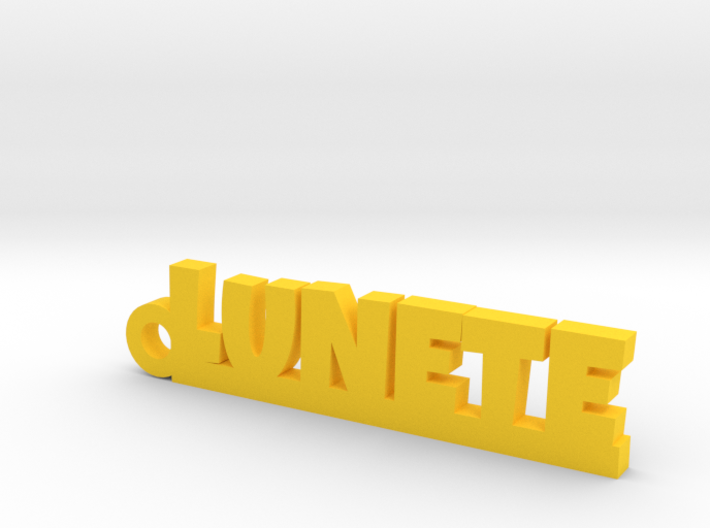 LUNETE Keychain Lucky 3d printed