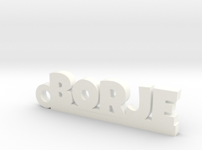 BORJE Keychain Lucky 3d printed