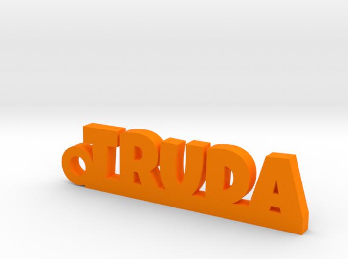 TRUDA Keychain Lucky 3d printed