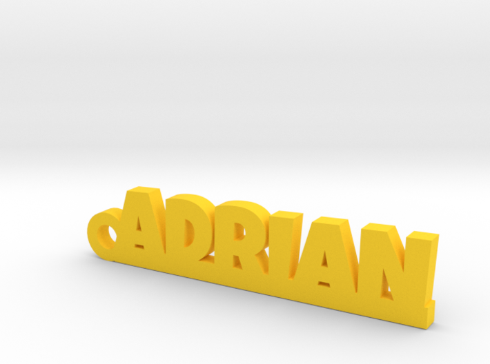 ADRIAN Keychain Lucky 3d printed