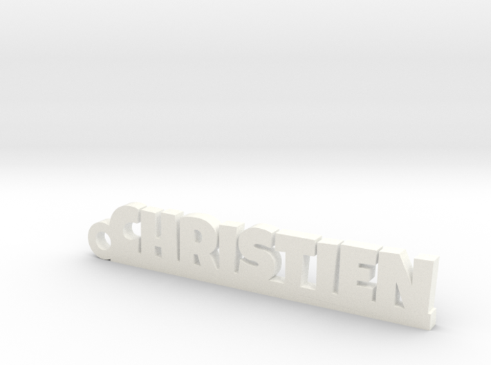 CHRISTIEN Keychain Lucky 3d printed