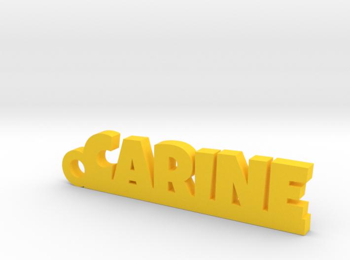 CARINE Keychain Lucky 3d printed