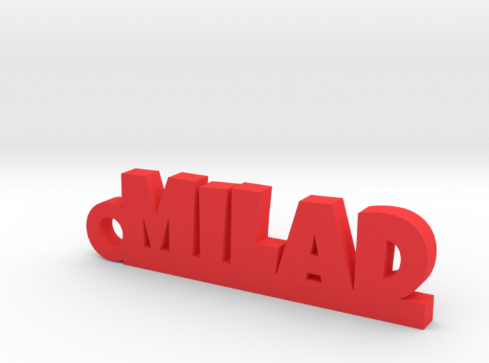 MILAD Keychain Lucky 3d printed
