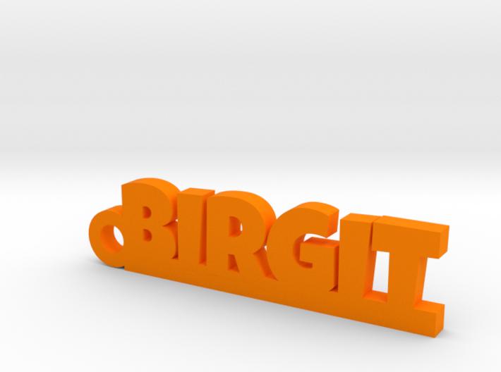 BIRGIT Keychain Lucky 3d printed