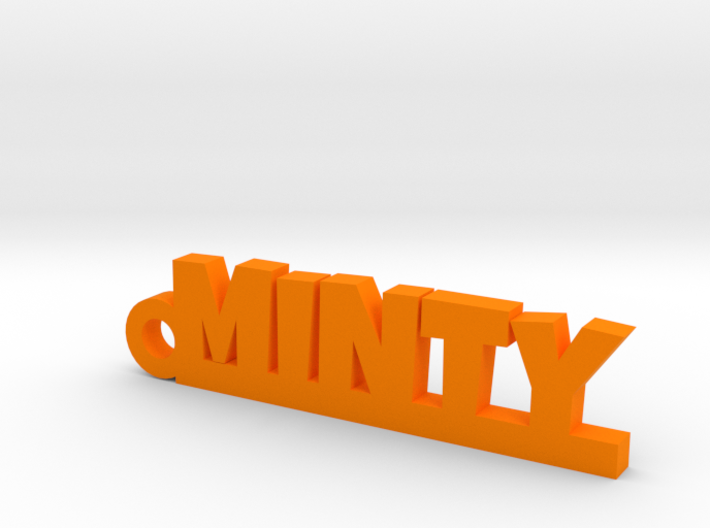 MINTY Keychain Lucky 3d printed