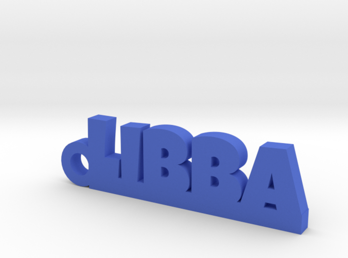 LIBBA Keychain Lucky 3d printed