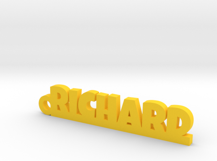 RICHARD Keychain Lucky 3d printed