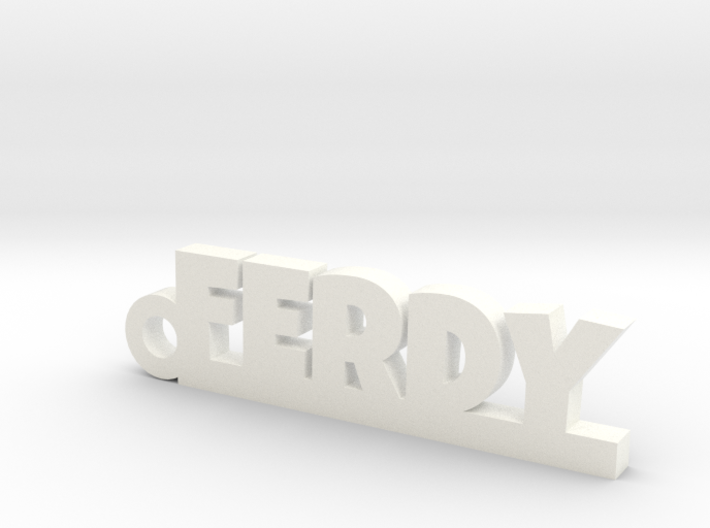 FERDY Keychain Lucky 3d printed