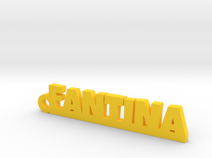 FANTINA Keychain Lucky 3d printed