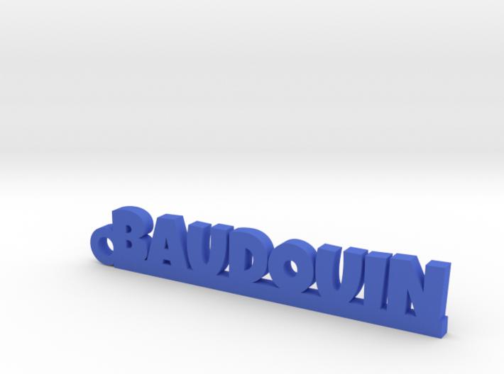 BAUDOUIN Keychain Lucky 3d printed