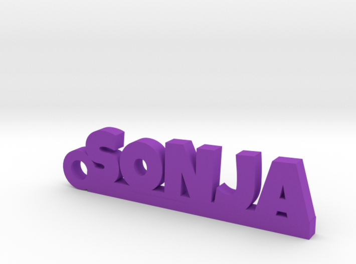 SONJA Keychain Lucky 3d printed