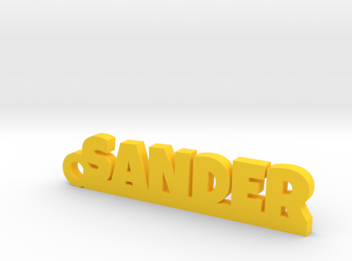 SANDER Keychain Lucky 3d printed