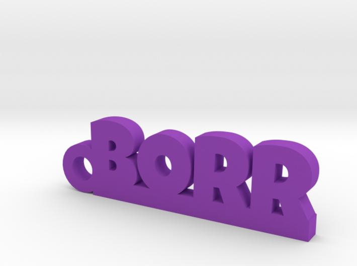 BORR Keychain Lucky 3d printed