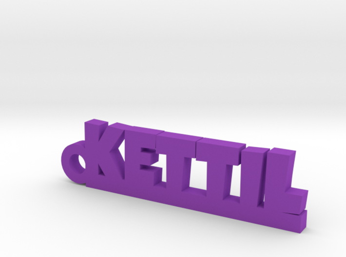 KETTIL Keychain Lucky 3d printed