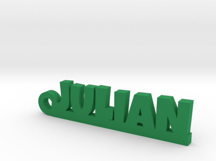 JULIAN Keychain Lucky 3d printed