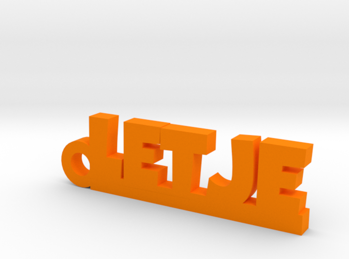 LETJE Keychain Lucky 3d printed