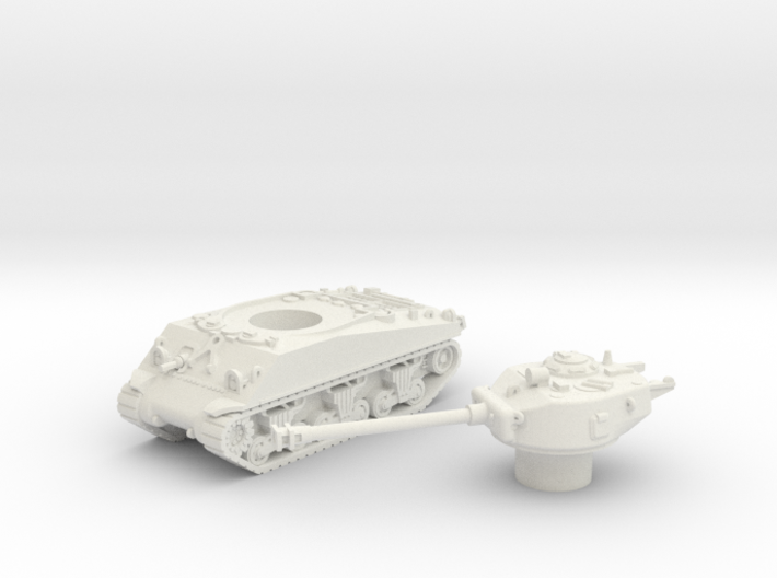 M4 Sherman Tank (Usa)  1/100 3d printed