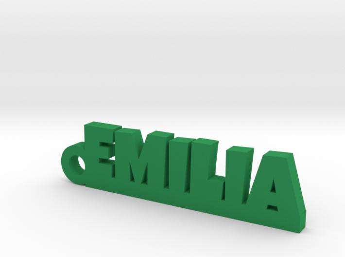 EMILIA Keychain Lucky 3d printed