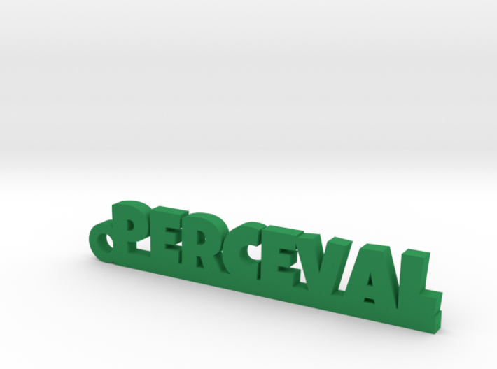 PERCEVAL Keychain Lucky 3d printed