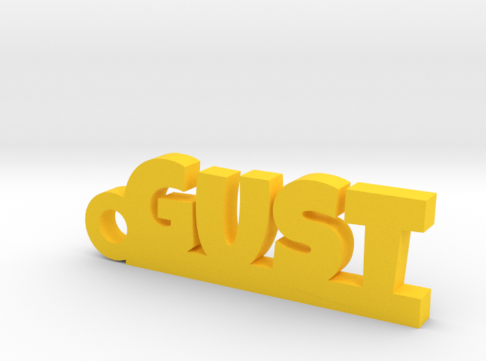 GUST Keychain Lucky 3d printed