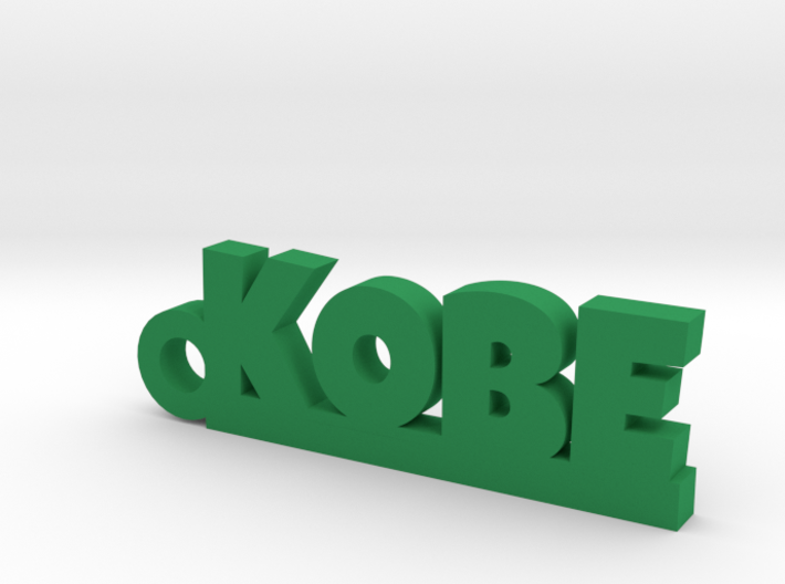 KOBE Keychain Lucky 3d printed