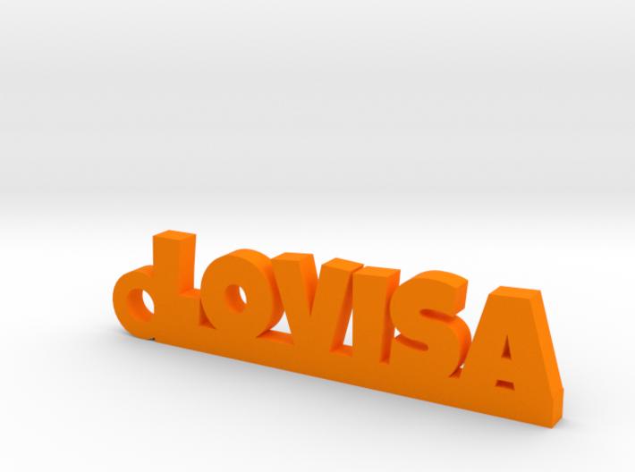 LOVISA Keychain Lucky 3d printed
