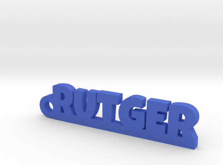 RUTGER Keychain Lucky 3d printed