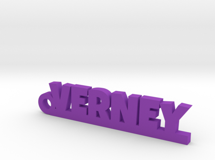 VERNEY Keychain Lucky 3d printed
