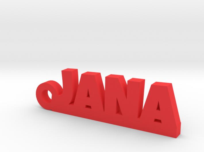 JANA Keychain Lucky 3d printed