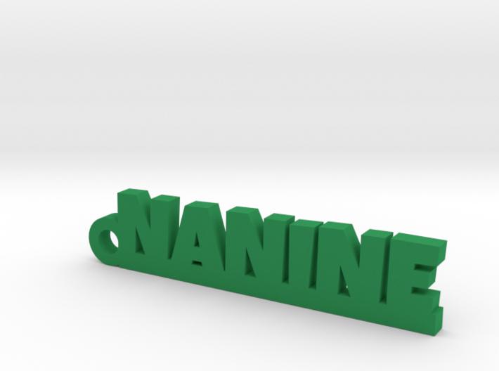 NANINE Keychain Lucky 3d printed