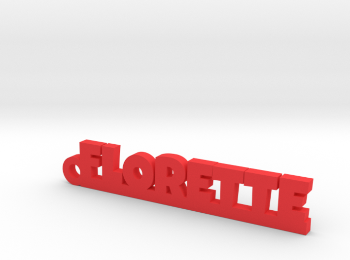 FLORETTE Keychain Lucky 3d printed