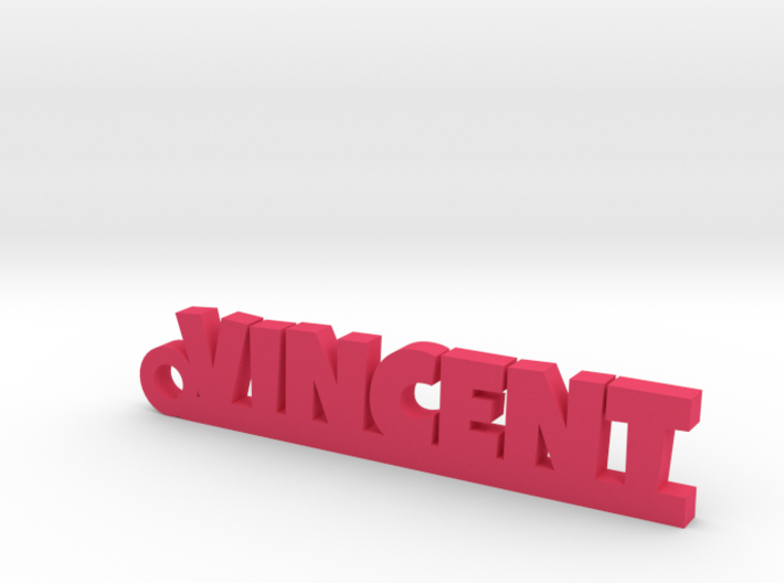 VINCENT Keychain Lucky 3d printed