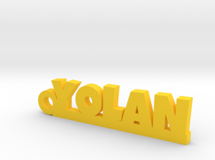YOLAN Keychain Lucky 3d printed