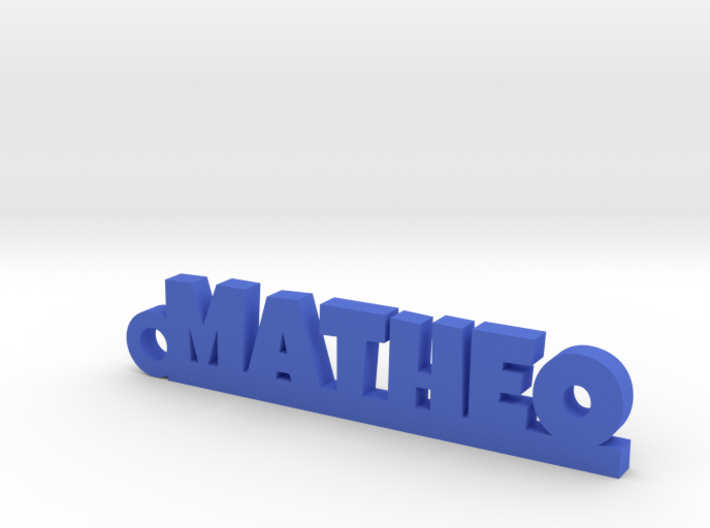 MATHEO Keychain Lucky 3d printed