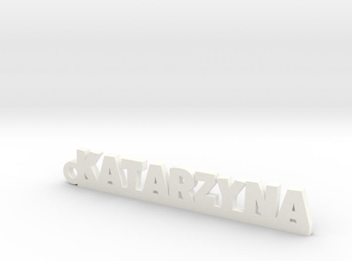 KATARZYNA Keychain Lucky 3d printed