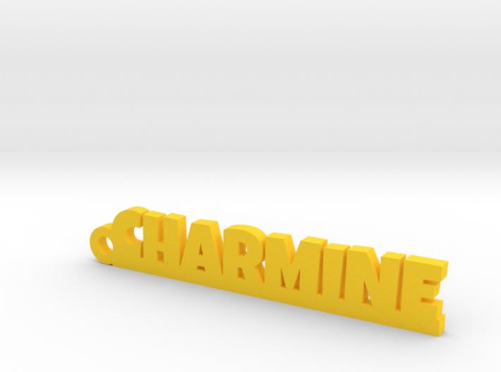 CHARMINE Keychain Lucky 3d printed