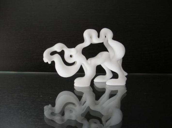 Cartoon Camel 3d printed Description