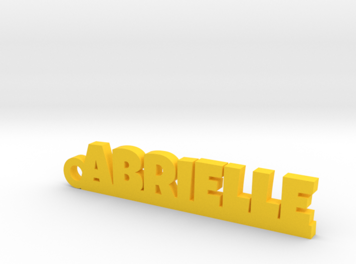 ABRIELLE Keychain Lucky 3d printed