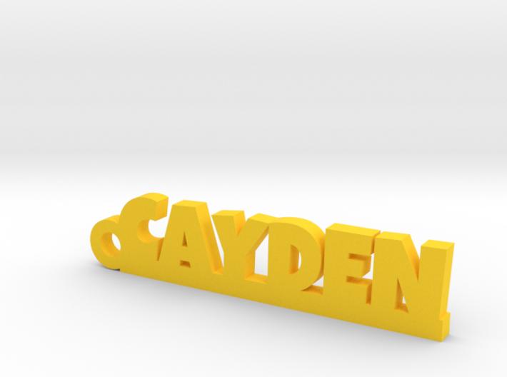 CAYDEN Keychain Lucky 3d printed