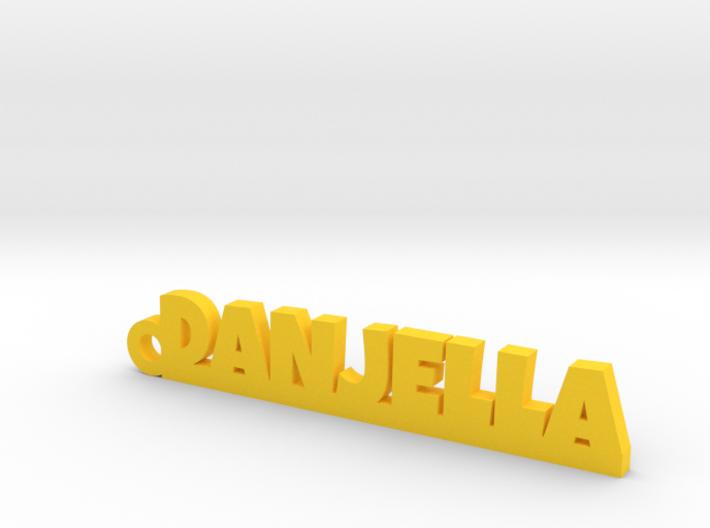 DANJELLA Keychain Lucky 3d printed