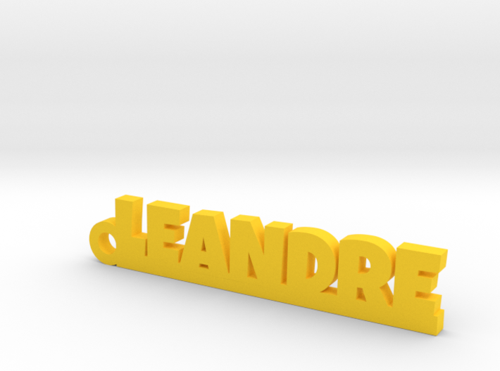 LEANDRE Keychain Lucky 3d printed