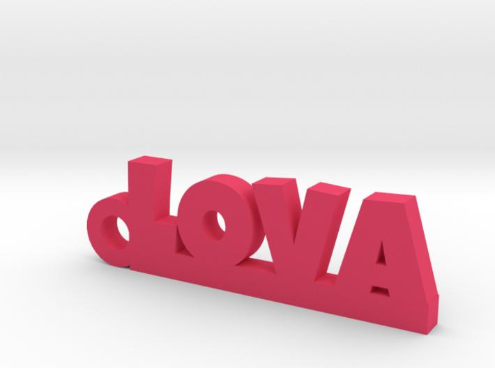 LOVA Keychain Lucky 3d printed