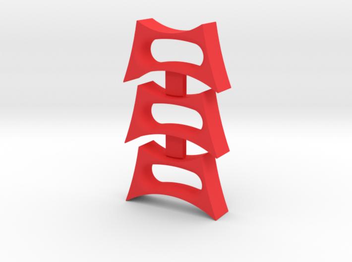 Bean -through fidget spinner insert 3d printed