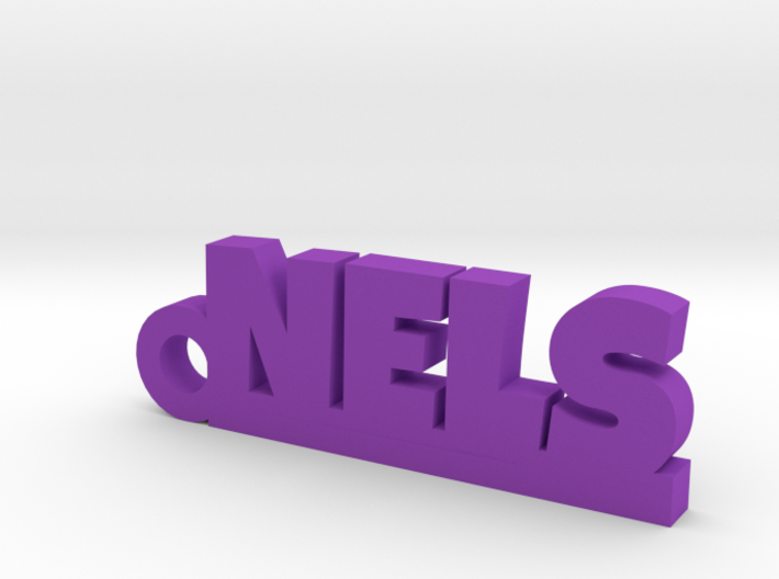 NELS Keychain Lucky 3d printed