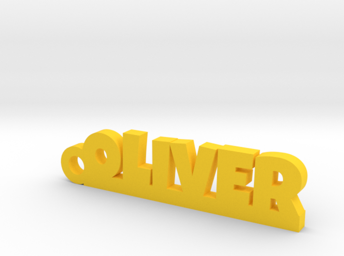 OLIVER Keychain Lucky 3d printed