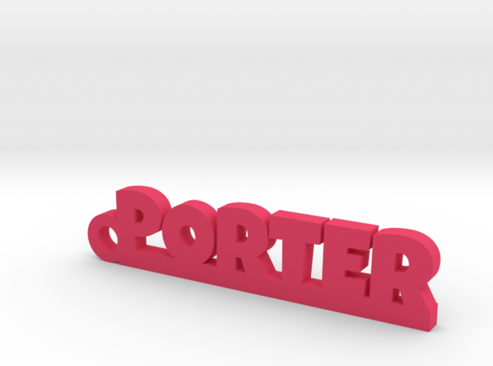 PORTER Keychain Lucky 3d printed