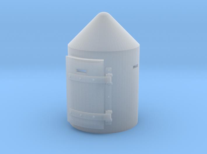 TJ-H04501 - Guerite anti-bombardement 3d printed